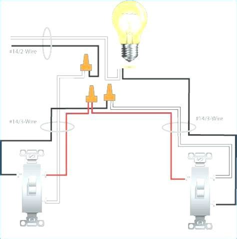 Two Light Switches One Power Source Diagram