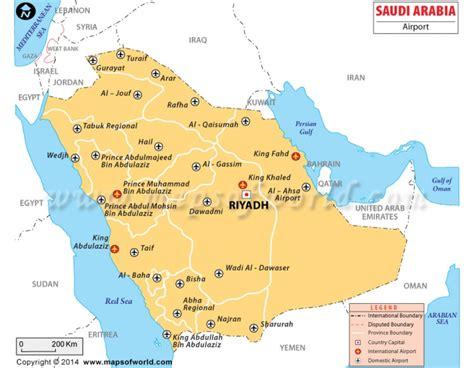 arabia map buy saudi arabia airport map