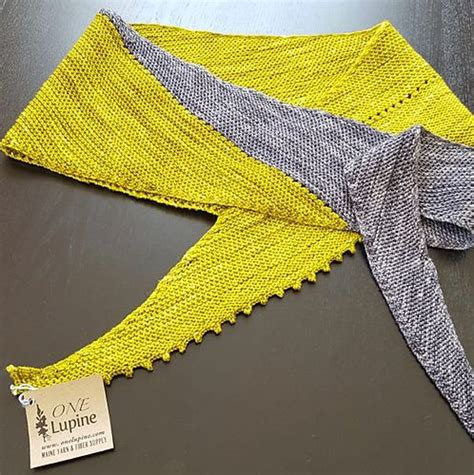 knitting pattern yo k2tog this asymmetrical shawl is worked in garter stitch with a