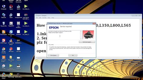 reset l210 video new video how to reset epson l110 l210 l300 l350 l355