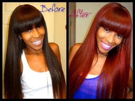 brown to red hair without bleach youtube how to brown hair to red hair without bleaching youtube