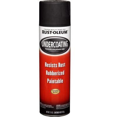 Rust Oleum Automotive 15 Oz Rubberized Undercoating Black