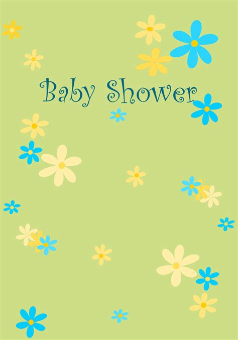 9 free printable baby shower cards survey template words