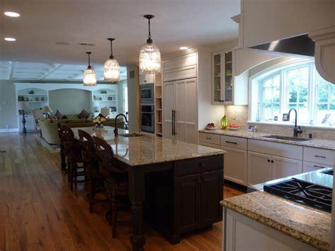 Large, family kitchen   Traditional   Kitchen   baltimore