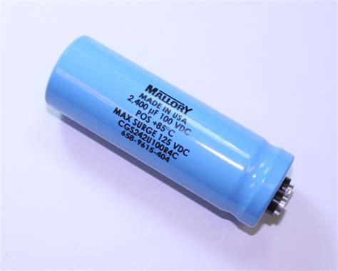capacitor computer cgs242u100r4c mallory capacitor 2 400uf 100v aluminum electrolytic large can computer grade