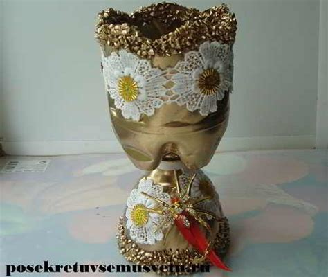 Vase From Plastic Bottle by How To Make Vase From Plastic Bottle Simple Craft Ideas