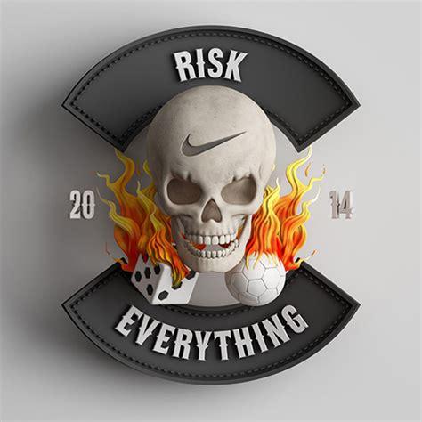 Nike Risk Everything Skull Iphone Samsung nike risk everything sketchbook inc