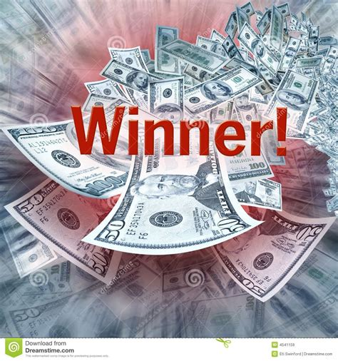 Win Lots Of Money Free - winning money royalty free stock images image 4541159