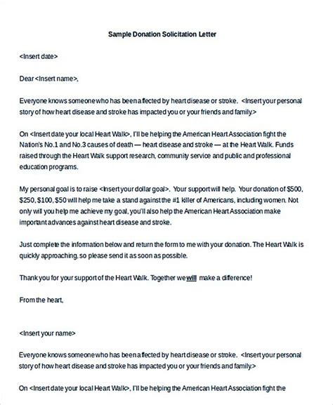 charity solicitation letter template from charity solicitation letter template solicitation