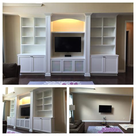 Built In Base Cabinets by Custom Built Ins Carpentry Plus
