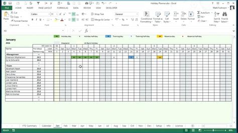 employee vacation planner template lovely vacation excel template images resume ideas
