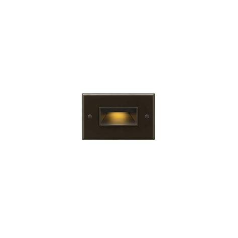 120 volt landscape lighting home depot hinkley lighting 120 volt 4 watt horizontal bronze led