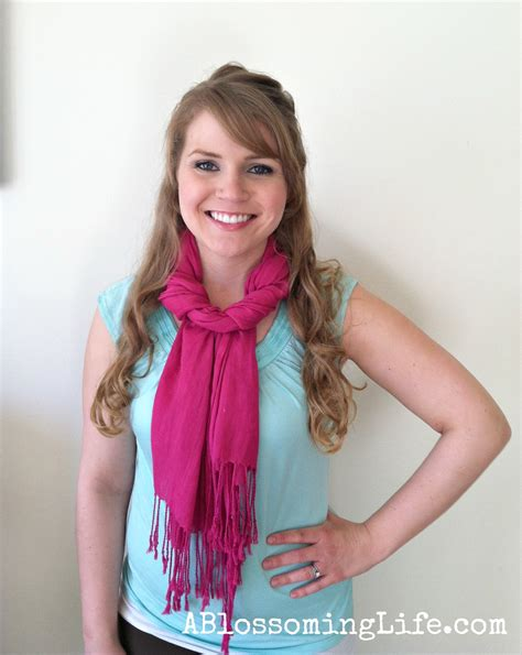 how to drape a scarf around your neck 9 easy ways to wear a scarf
