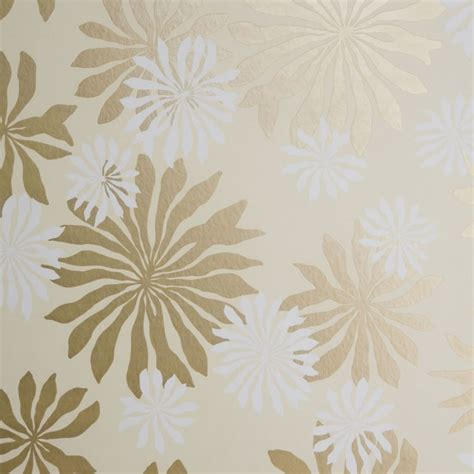 buy gold wallpaper uk missprint misp1017 fleur cream gold wallpaper missprint