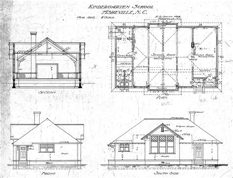 House Plan Elevations by Floor Plan Section Elevation Architecture Plans 4988