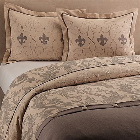 Fleur De Lis Bed Set Buy Fleur De Lis King Duvet Cover Set From Bed Bath Beyond