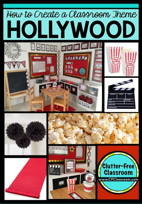 biological themes in film class hollywood themed classroom ideas printable classroom