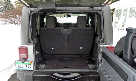 Jeep Wrangler Cargo Space 2015 Jeep Wrangler Photos Truedelta Car Reviews