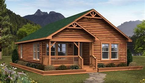 Manufactured Log Cabin Homes by Small Log Cabin Modular Homes Quotes