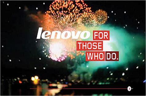 Lenovo For Those Who Do Mediapost Creative Media Awards