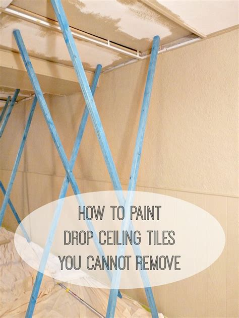 Best Way To Remove Ceiling Paint by Best 25 Drop Ceiling Tiles Ideas On Updating