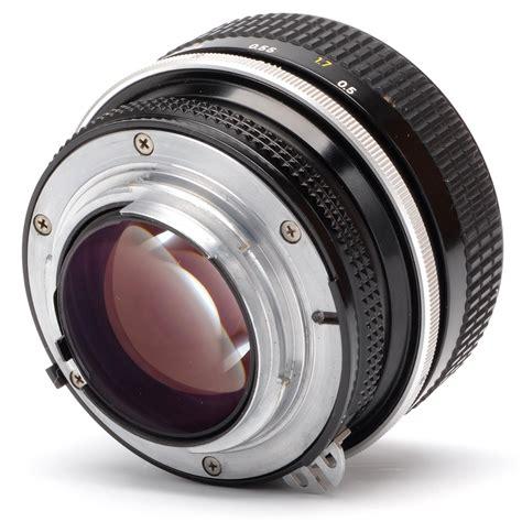 Nikon F1 2 nikon 55mm f1 2 a nikkor lens sn 361151 ebay