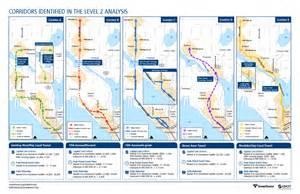 Light Rail Map Seattle Ballard Link Light Rail Route Options Proposed By St Seattle