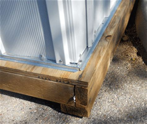 how to make a wood floor for your metal shed or plastic shed