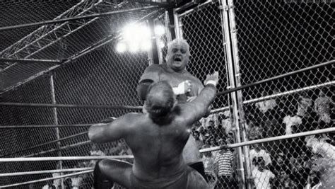 what ifric flair helped dusty rhodes after the cage match war games wcw s most notorious matches disc 1 dvd review