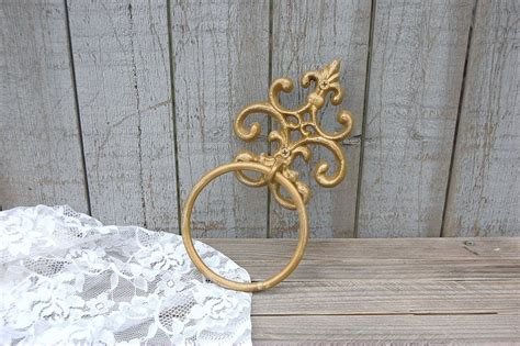 shabby chic towel ring the vintage artistry