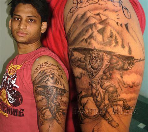 hanuman tattoo designs lord hanuman manjeet tattooz