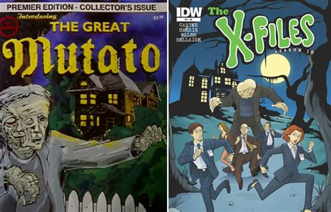 4 Great Posts With The Buzz by X Files Scooby Doo Variant Cover L7 World