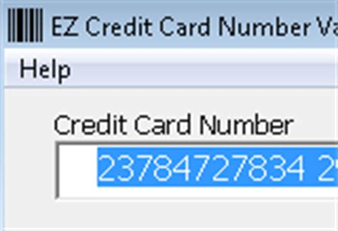 how to make a valid credit card number valid creditcard numbers petal