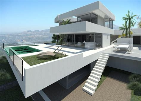 Moderne Luxe Villa Woonkamer by Calpe Luxe Moderne Nieuwe Villa Costa Blanca Spanje Specials