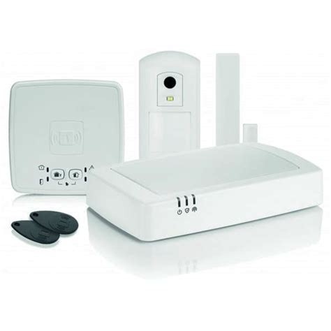 honeywell connected wireless home alarm kit 2 hs912s