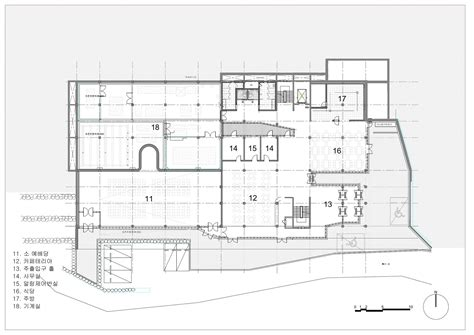 church of light floor plan gallery of light of life church shinslab architecture