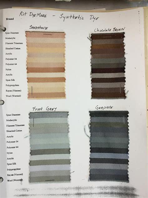 rit colors rit synthetic dye sle chart color palettes