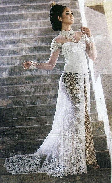 Kebaya Duyung Pengantin Wanita blue gasparine kebaya pengantin