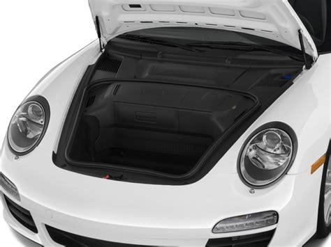 porsche trunk image 2009 porsche 911 2 door coupe trunk size