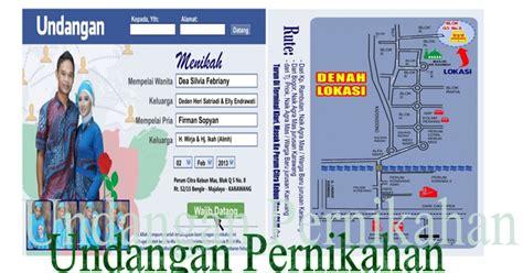 template undangan facebook cdr download template undangan pernikahan format cdr relep