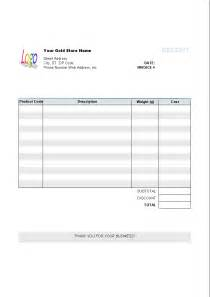 Invoice Receipt Template Word 6 Best Images Of Bill Receipt Template Medical Bill