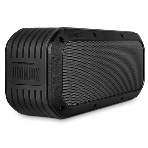Speaker Bluetooth Voombox Voombox Outdoor Waterproof Bluetooth Speaker 2x7 5w With Time To 12 Hours Cool Mania