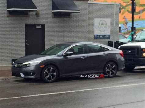 honda civic 2016 sedan honda s 2016 civic sedan spied out in the open