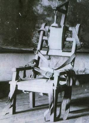 The Eletric Chair by 1890s Electric Chair Jpg