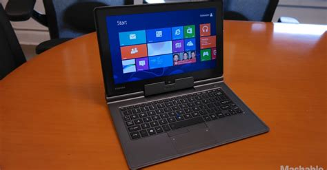 toshiba offers a business laptop with windows 8 or 7