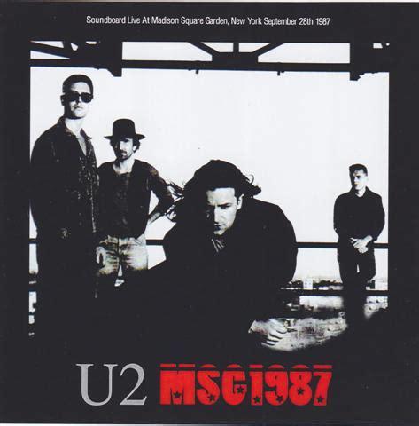 U2 At Square Garden by U2 Msg 1987 2cdr Giginjapan