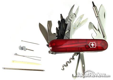 Jual Pisau Lipat Cybertool 34 review victorinox cybertool 34 pisau lipatnya orang it