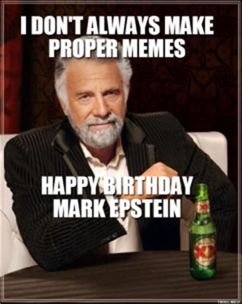 Meme Dos Equis - quotes by mark epstein like success