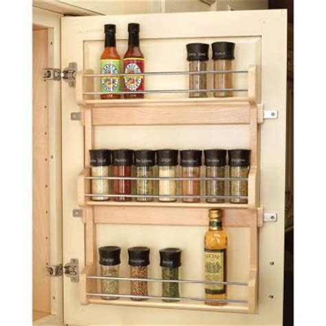 kitchen cabinet organizers home depot rev a shelf 22 in h x 17 in w x 3 in d 3 shelf large