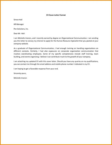 Free Cover Letter Exles For Resume by General Resume Cover Letter Generic Resume